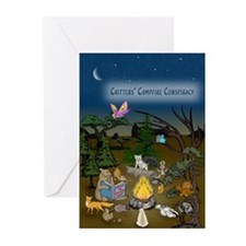Campfire Conspiracy Greeting Cards (Pk of 10)