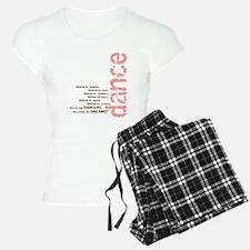 "Pink and Brown ""We create the Pajamas"