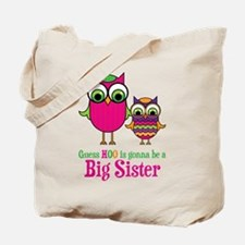 Guess Hoo Sister to be Tote Bag
