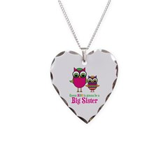 Guess Hoo Sister to be Necklace