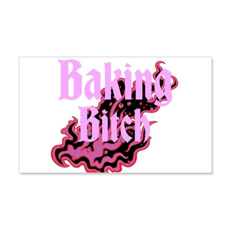 Baking Bitch 22x14 Wall Peel
