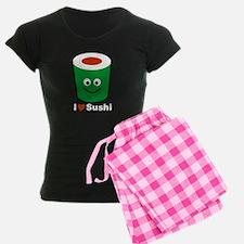 I Love Heart Sushi Pajamas