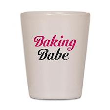 Baking Babe Shot Glass