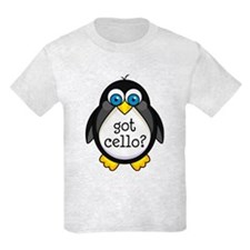 Cello Music Penguin T-Shirt