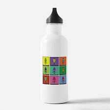 Color Bots Water Bottle