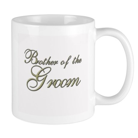 Brother of the Groom Mug