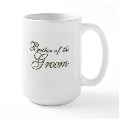 Brother of the Groom Large Mug