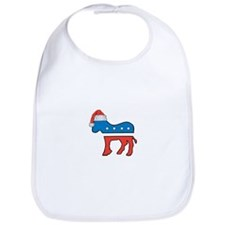 Cute Democrat logo Bib