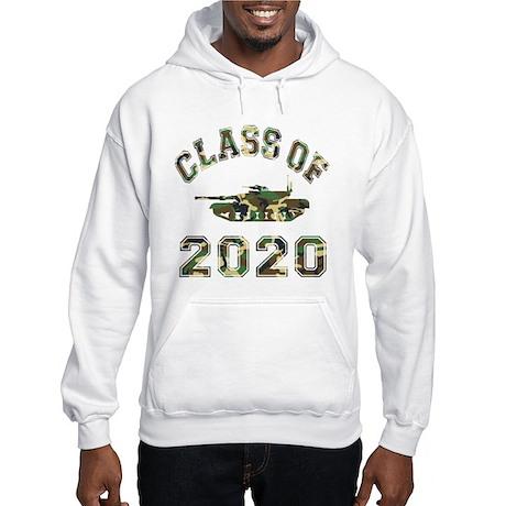Class Of 2020 Military School Hooded Sweatshirt