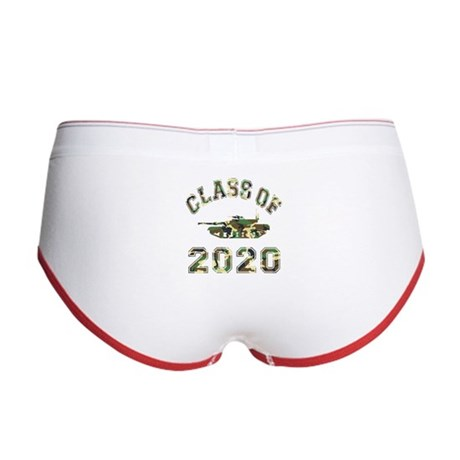 Class Of 2020 Military School Women's Boy Brief