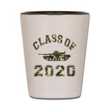 Class Of 2020 Military School Shot Glass