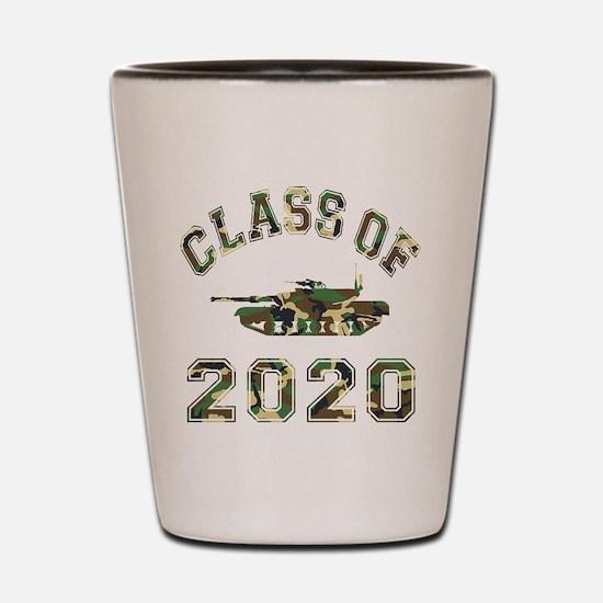 Class Of 2020 Military School Shot Glass