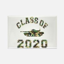 Class Of 2020 Military School Rectangle Magnet