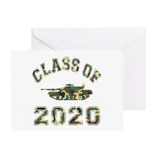 Class Of 2020 Military School Greeting Card