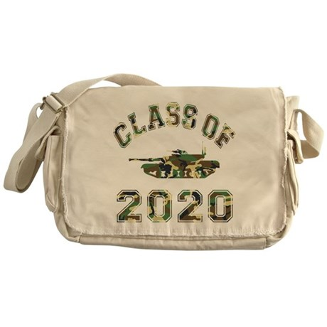 Class Of 2020 Military School Messenger Bag