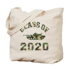 Class Of 2020 Military School Tote Bag