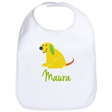 Maura Loves Puppies Bib