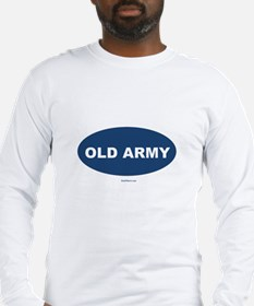 Old Army Dad Long Sleeve T-Shirt
