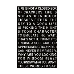 Life is Not a Box of Crackers 11x17 Poster