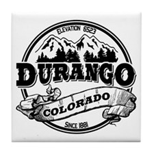 Durango Old Circle Tile Coaster