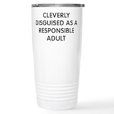 Cleverly Adult Travel Coffee Mug