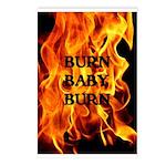 BURN, BABY, BURN™ Postcards (Package of 8)