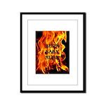BURN, BABY, BURN™ Framed Panel Print