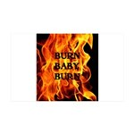 BURN, BABY, BURN™ 38.5 x 24.5 Wall Peel