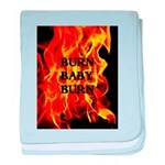 BURN, BABY, BURN™ baby blanket