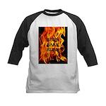 BURN, BABY, BURN™ Kids Baseball Jersey