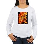 BURN, BABY, BURN™ Women's Long Sleeve T-Shirt