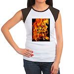 BURN, BABY, BURN™ Women's Cap Sleeve T-Shirt