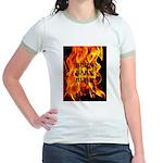 BURN, BABY, BURN™ Jr. Ringer T-Shirt