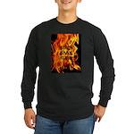 BURN, BABY, BURN™ Long Sleeve Dark T-Shirt