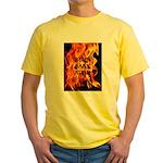 BURN, BABY, BURN™ Yellow T-Shirt