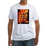 BURN, BABY, BURN™ Fitted T-Shirt