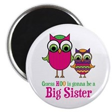"Guess Hoo Sister to be 2.25"" Magnet (10 pack)"