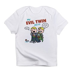 Nale: My Evil Twin... Infant T-Shirt