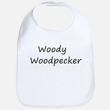 Woody Woodpecker Bib