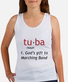 Tuba Definition Women's Tank Top