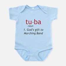 Tuba Definition Infant Bodysuit