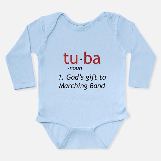 Tuba Definition Long Sleeve Infant Bodysuit