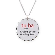Tuba Definition Necklace