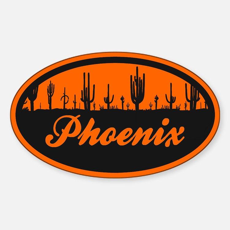 Phoenix AZ Flag Decal