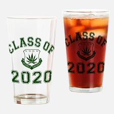 2020 School Of Hard Knocks Drinking Glass