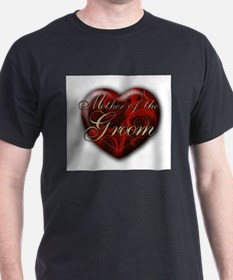 Mother of the Groom Black T-Shirt