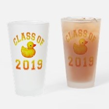 Class Of 2019 Duckie Drinking Glass