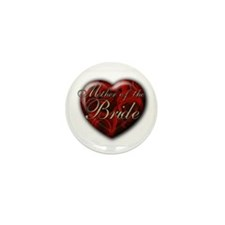 Mother of the Bride Mini Button (10 pack)