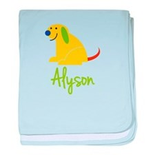 Alyson Loves Puppies baby blanket