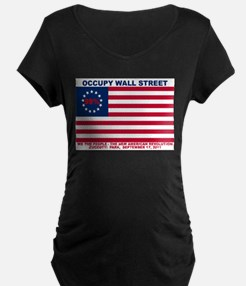 Occupy Wall Street American Flag 99% The New Revol
